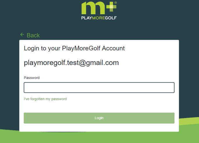 PMG New forgotten password