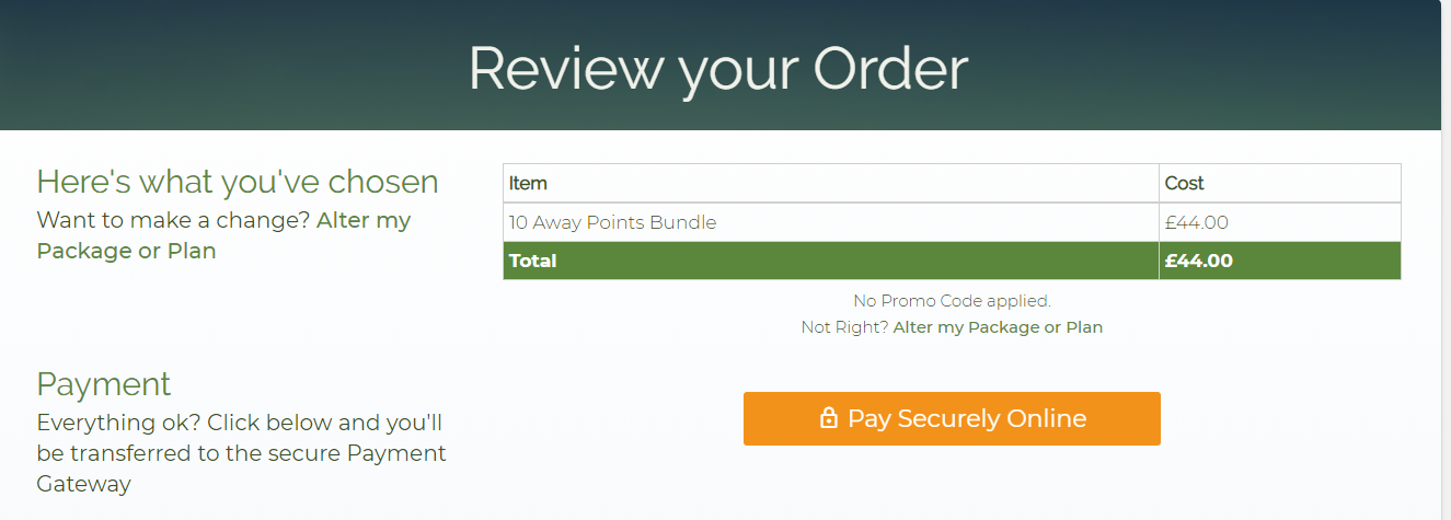 Review Your Order