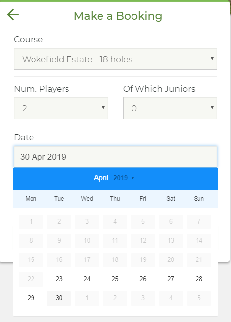 create a buddy booking